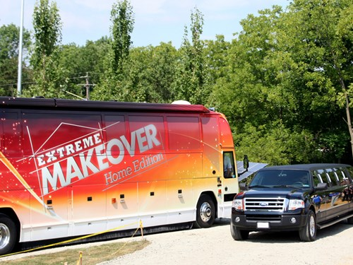 Extreme Makeover Home Edition bus