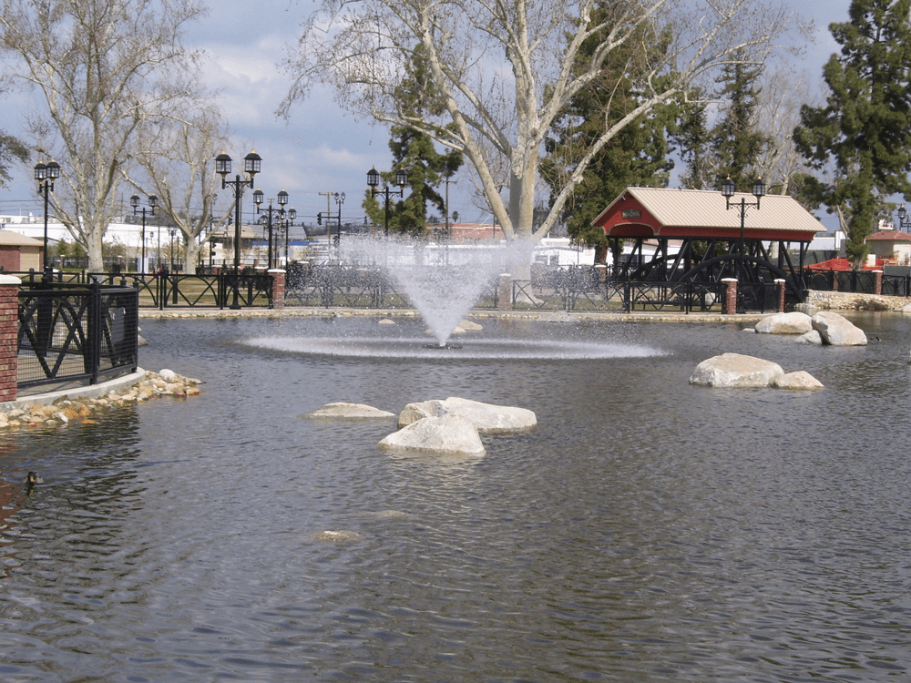 An Otterbine Aerating Fountain