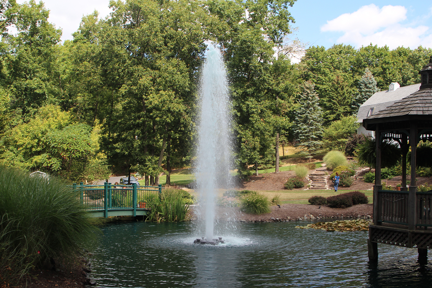 Otterbine's Comet Aerating Fountain