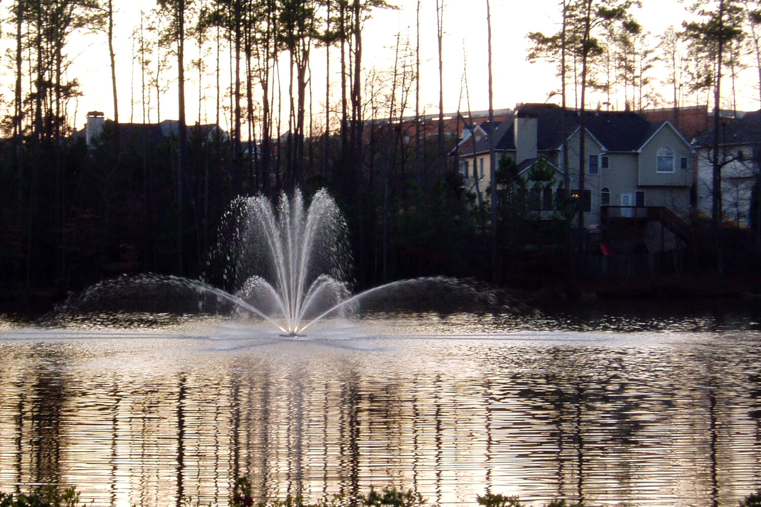 One of Otterbine's Genesis Aerating Fountains