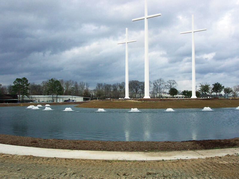 Otterbine's Aerating Fountains at the Bethany World Prayer Center