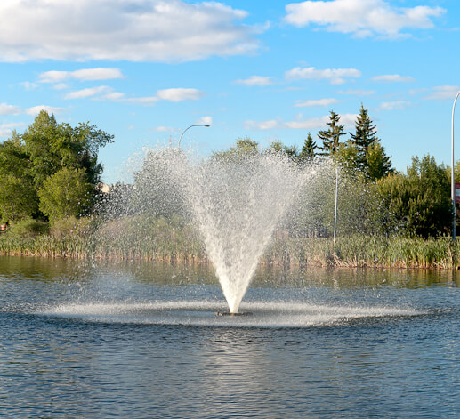 Otterbine High Volume Unit at Kinsmen Park