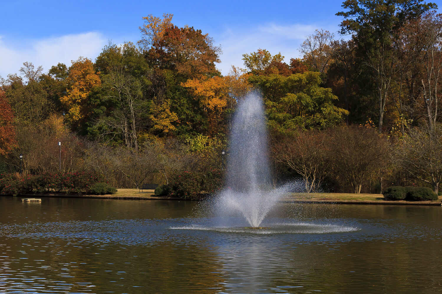 One of Otterbine's Phoenix Aerating Fountains