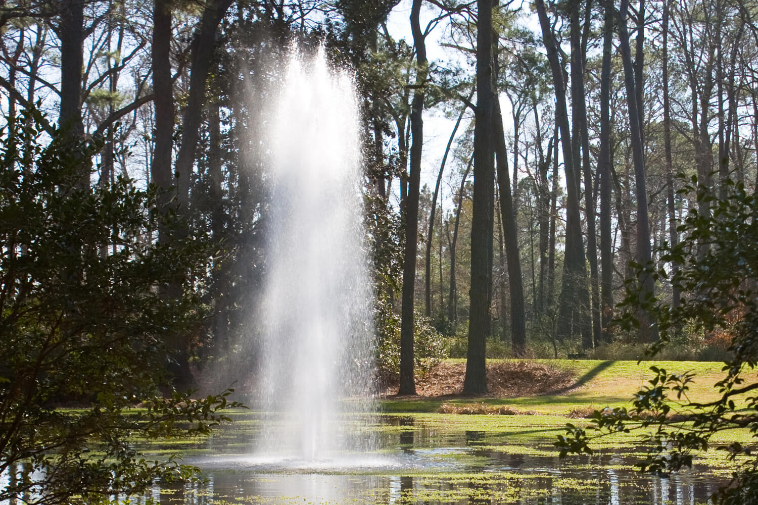 One of Otterbine's Rocket Aerating Fountains