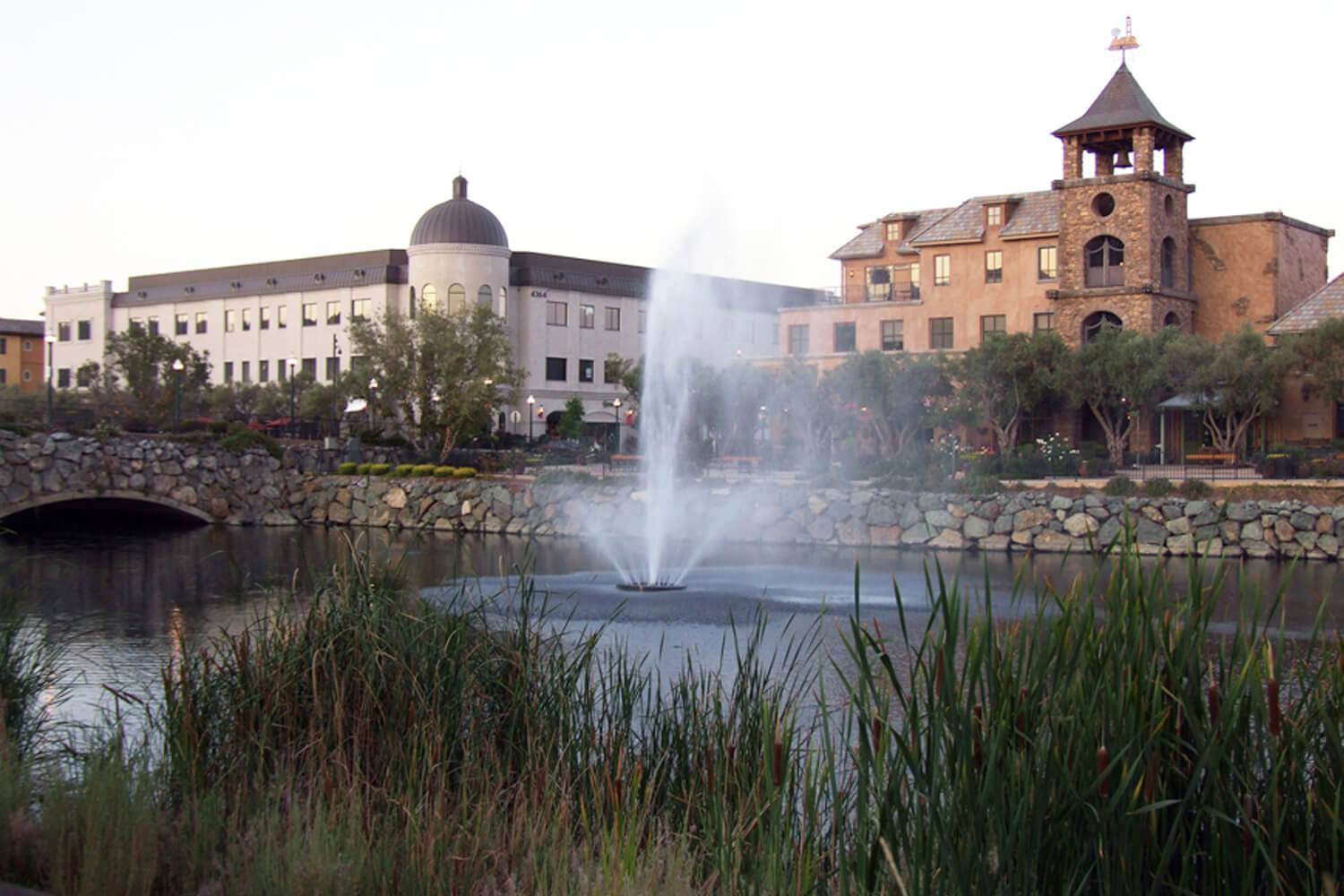 One of Otterbine's Aqua Star Aerating Fountains
