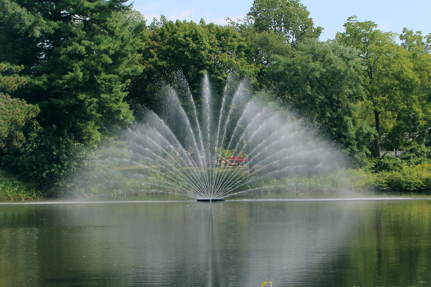 One of Otterbine's Aries Giant Aerating Fountains