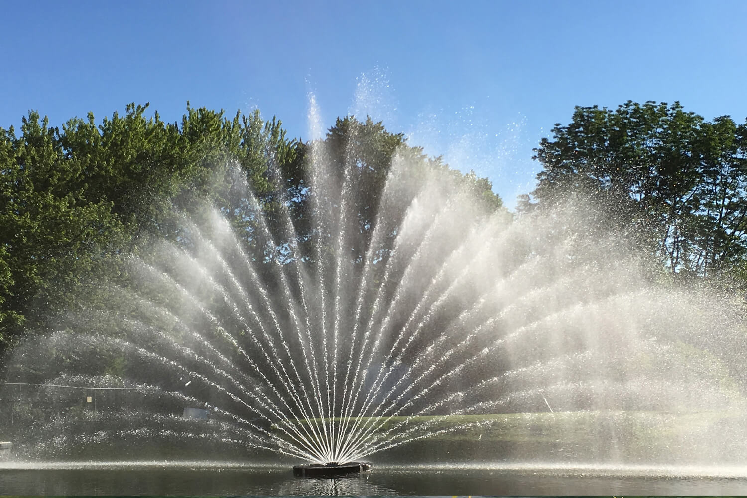 One of Otterbine's Aries Aerating Fountains