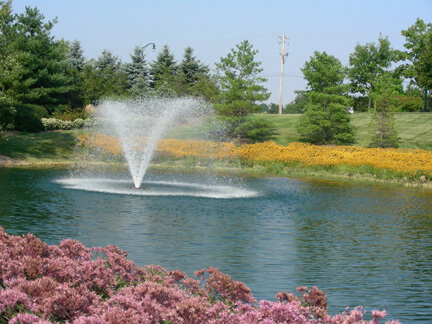 An Energy Efficient Otterbine Aerating Fountain