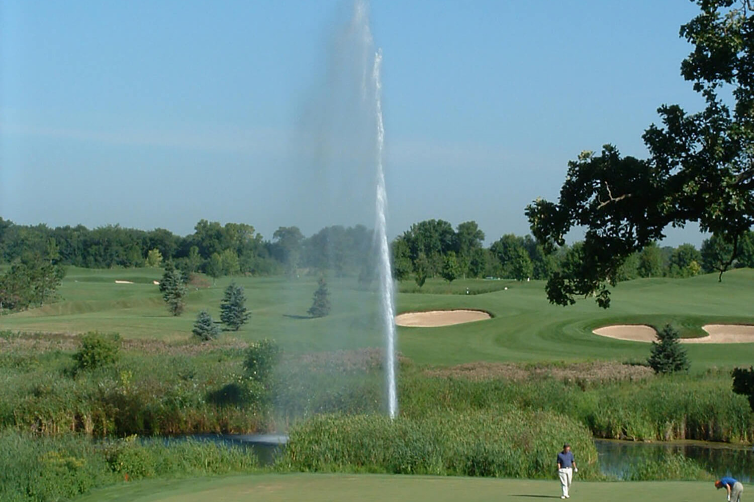 Otterbine Air Flo system at the NCR Country Club