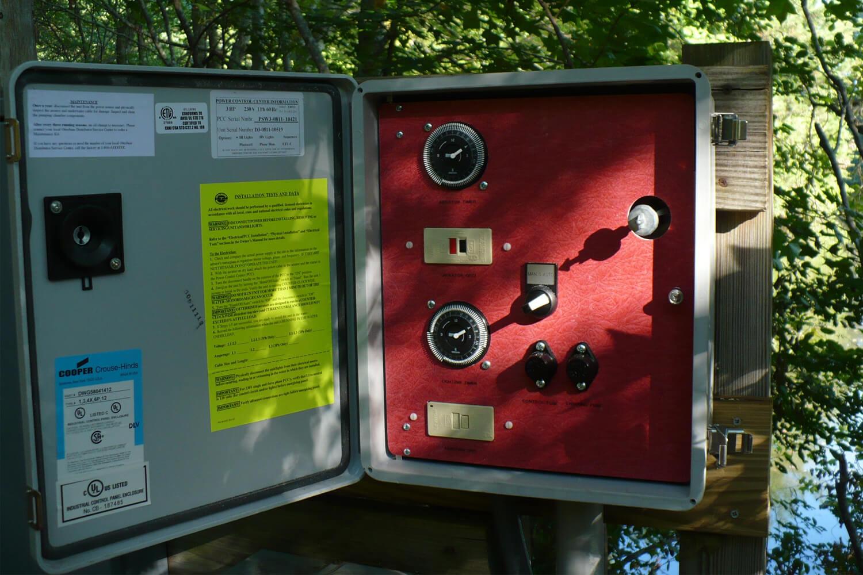 Power Control Center Fountain Accessory Otterbine